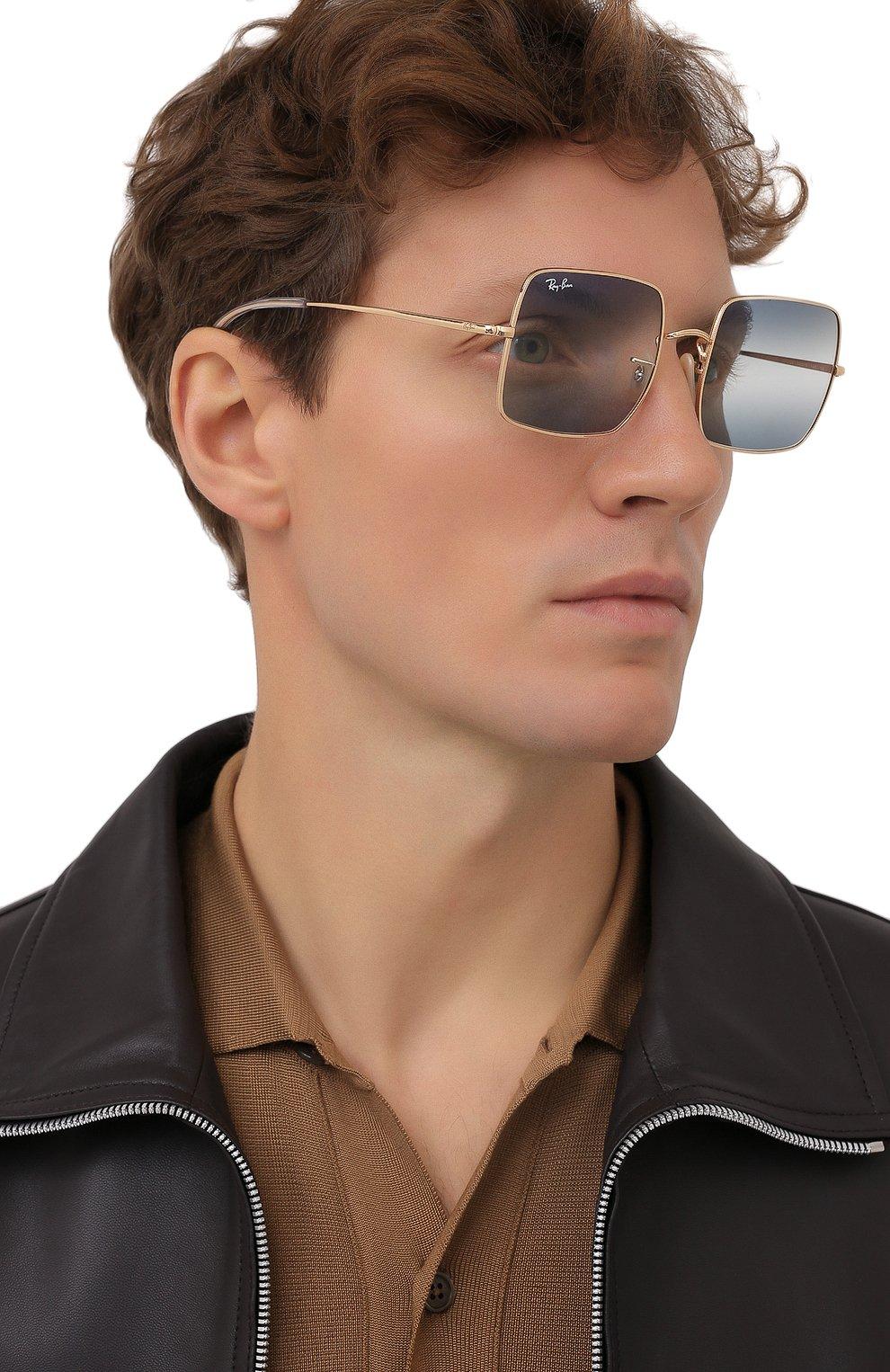Женские солнцезащитные очки RAY-BAN синего цвета, арт. 1971-001/GA | Фото 3