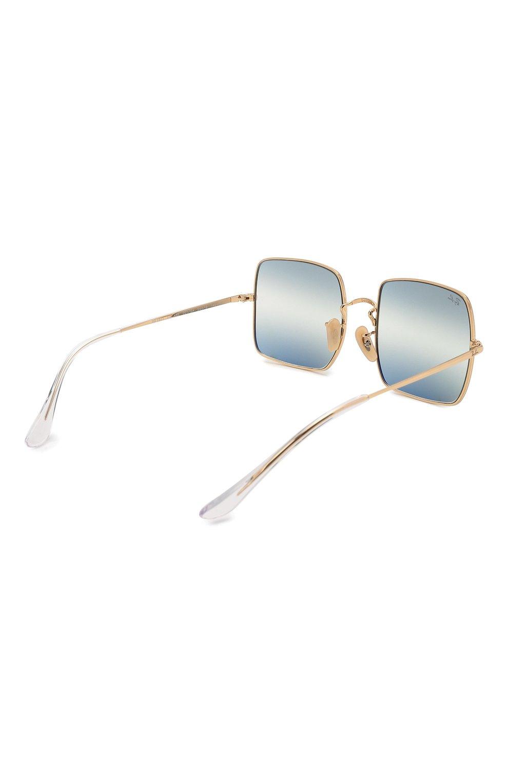 Женские солнцезащитные очки RAY-BAN синего цвета, арт. 1971-001/GA | Фото 5