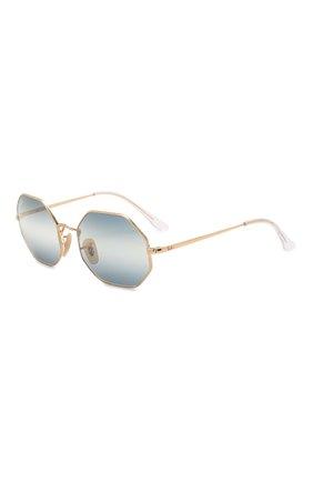 Женские солнцезащитные очки RAY-BAN синего цвета, арт. 1972-001/GA | Фото 1