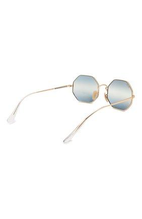 Женские солнцезащитные очки RAY-BAN синего цвета, арт. 1972-001/GA | Фото 5