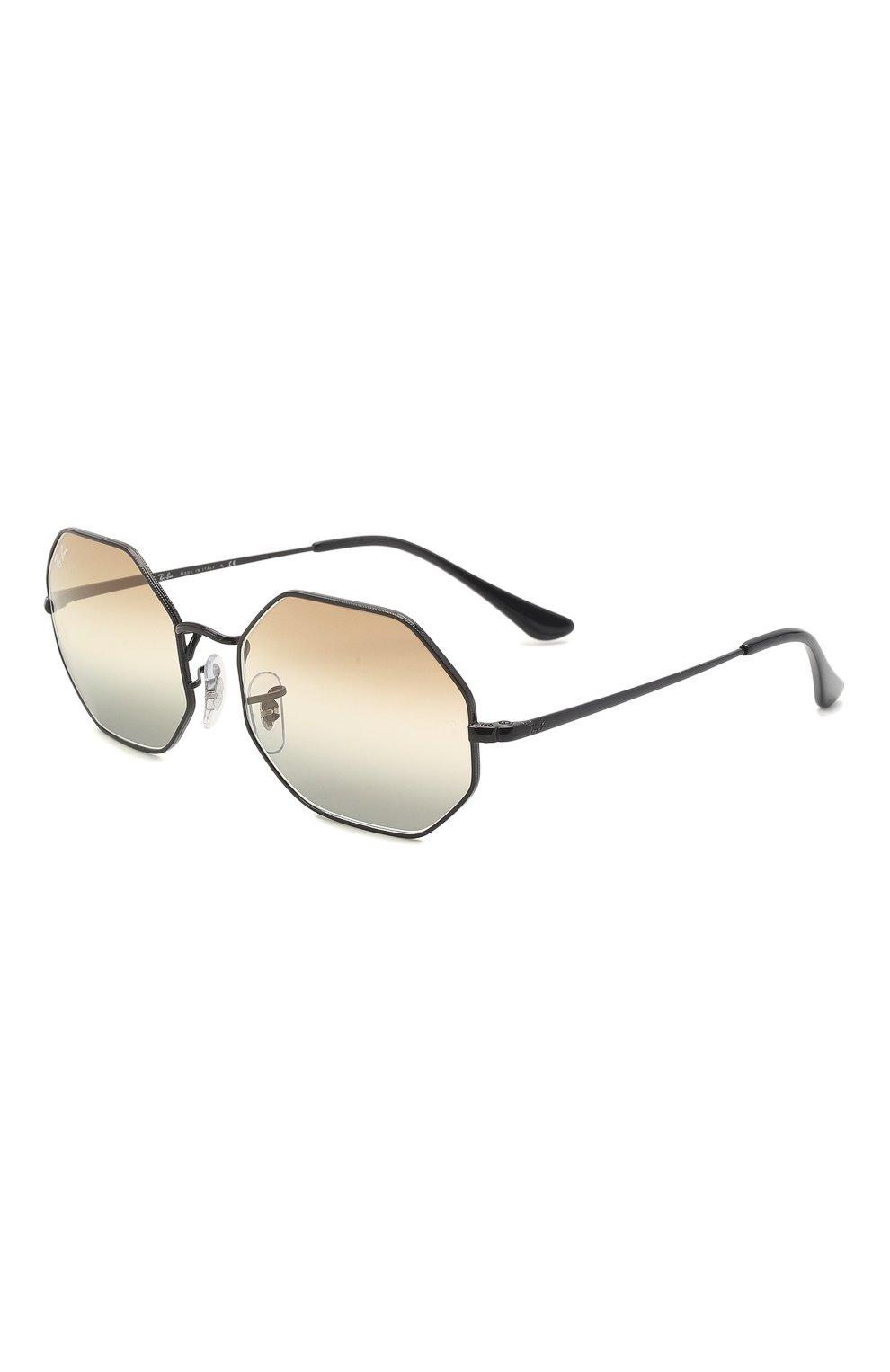 Женские солнцезащитные очки RAY-BAN черного цвета, арт. 1972-002/GB   Фото 1