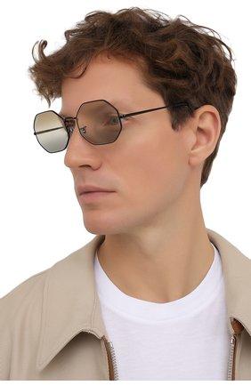Женские солнцезащитные очки RAY-BAN черного цвета, арт. 1972-002/GB   Фото 3