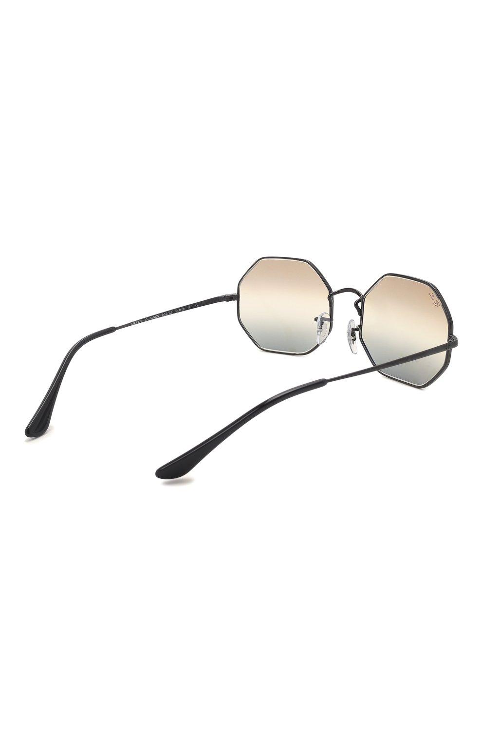 Женские солнцезащитные очки RAY-BAN черного цвета, арт. 1972-002/GB   Фото 5