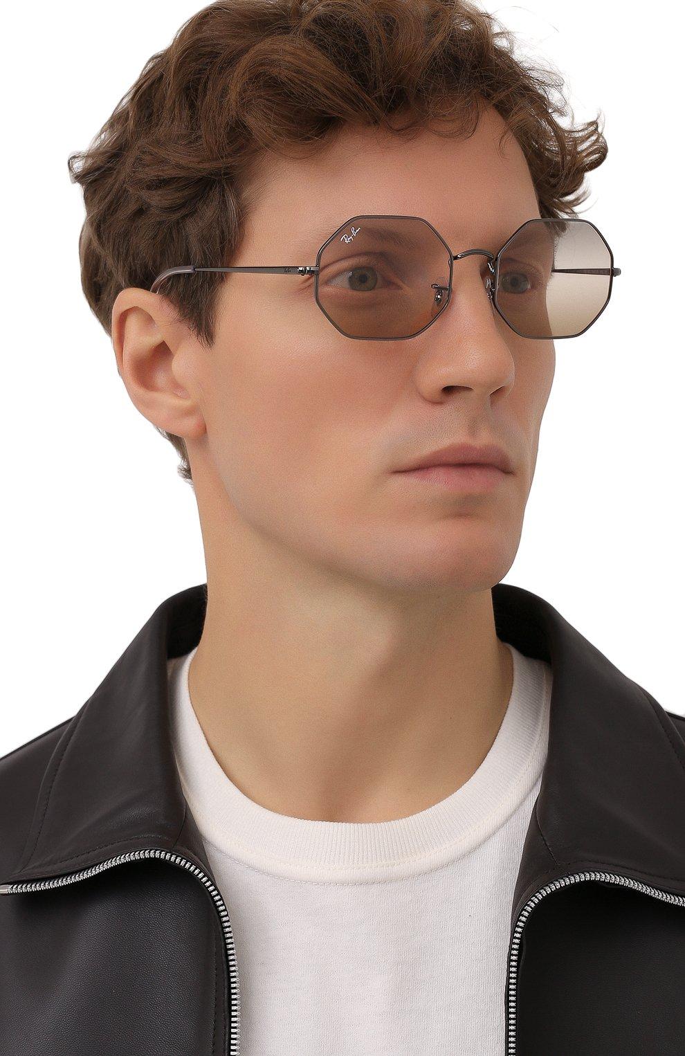 Женские солнцезащитные очки RAY-BAN черного цвета, арт. 1972-004/GC | Фото 3