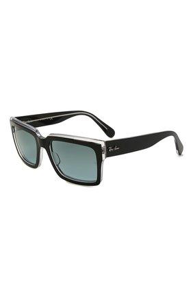 Женские солнцезащитные очки RAY-BAN черного цвета, арт. 2191-12943M | Фото 1