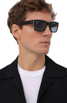 Женские солнцезащитные очки RAY-BAN черного цвета, арт. 2191-12943M | Фото 3