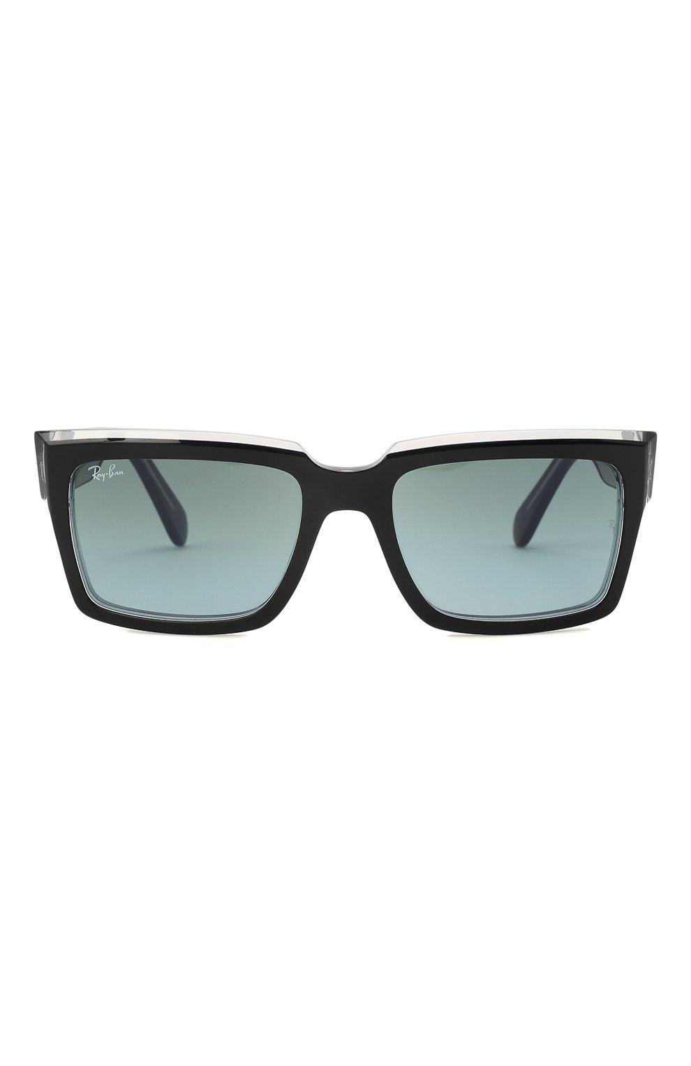 Женские солнцезащитные очки RAY-BAN черного цвета, арт. 2191-12943M | Фото 4