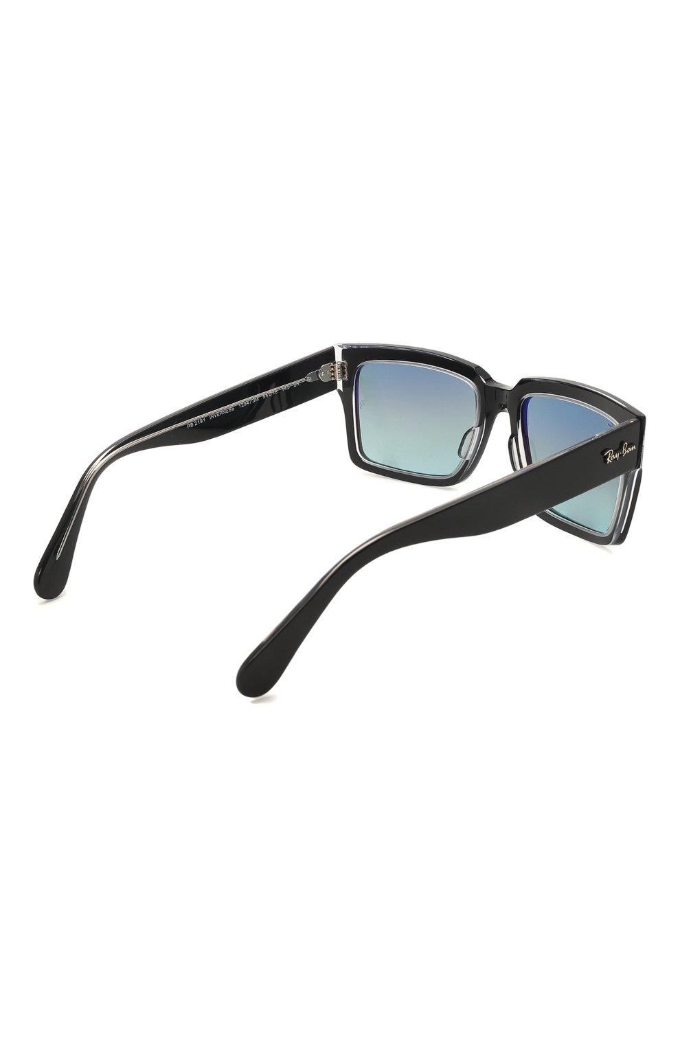 Женские солнцезащитные очки RAY-BAN черного цвета, арт. 2191-12943M | Фото 5