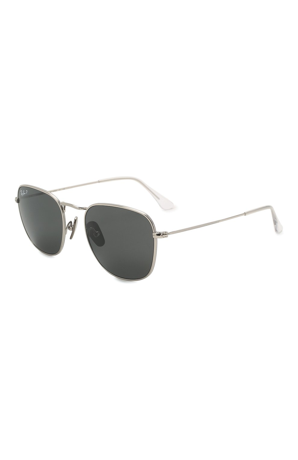 Женские солнцезащитные очки RAY-BAN серебряного цвета, арт. 8157-920948 | Фото 1
