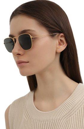 Женские солнцезащитные очки RAY-BAN золотого цвета, арт. 8157-921658 | Фото 2