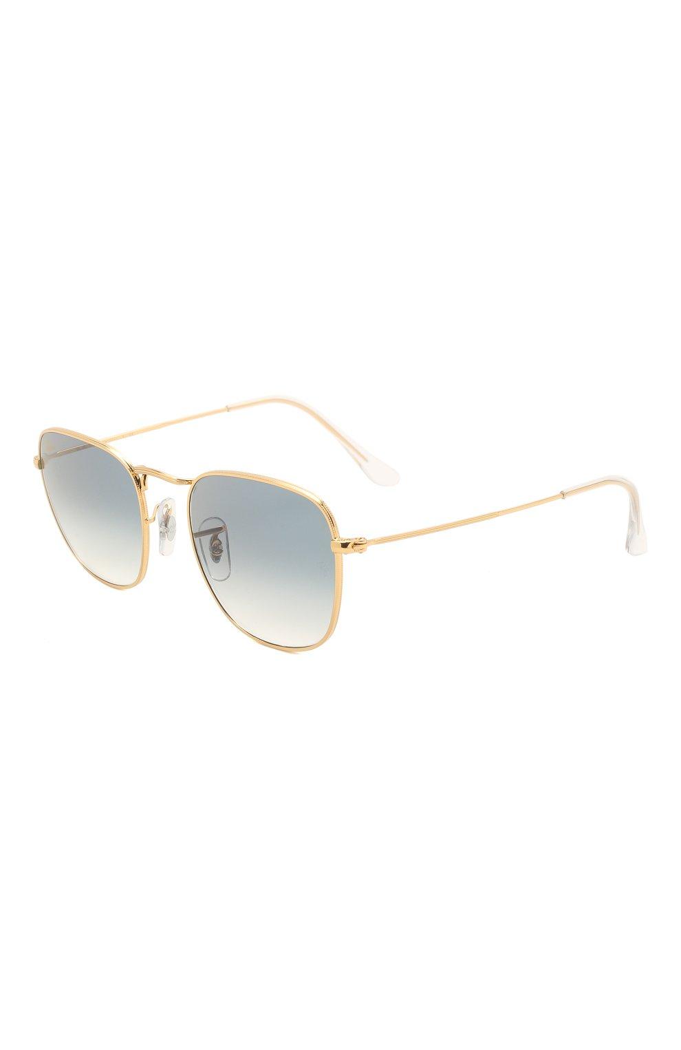 Женские солнцезащитные очки RAY-BAN голубого цвета, арт. 3857-91963F   Фото 1