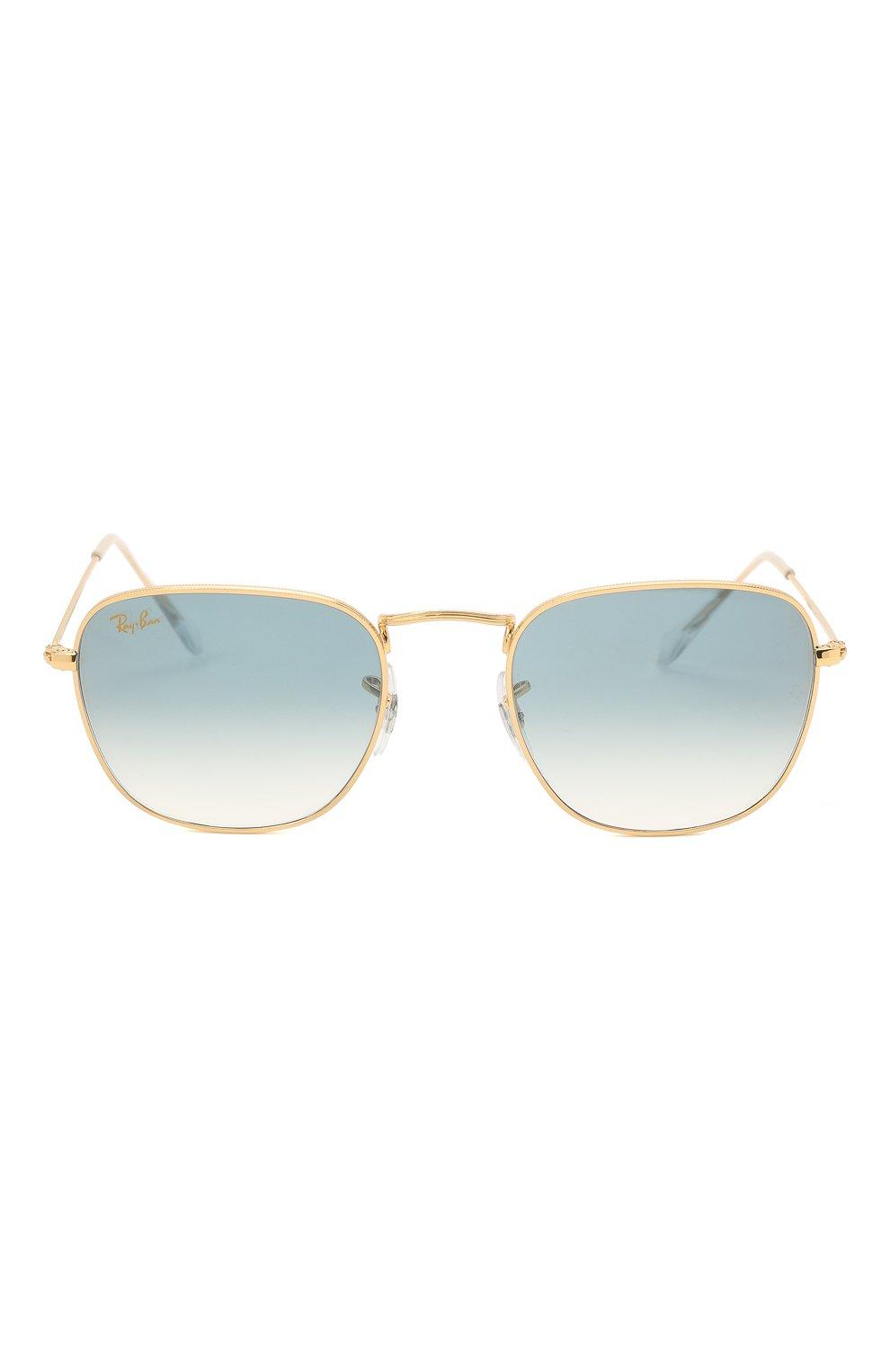 Женские солнцезащитные очки RAY-BAN голубого цвета, арт. 3857-91963F   Фото 4