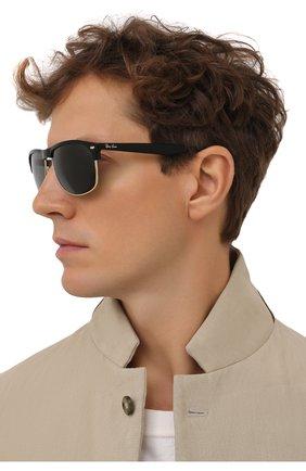 Мужские солнцезащитные очки RAY-BAN черного цвета, арт. 4342-601/71 | Фото 2