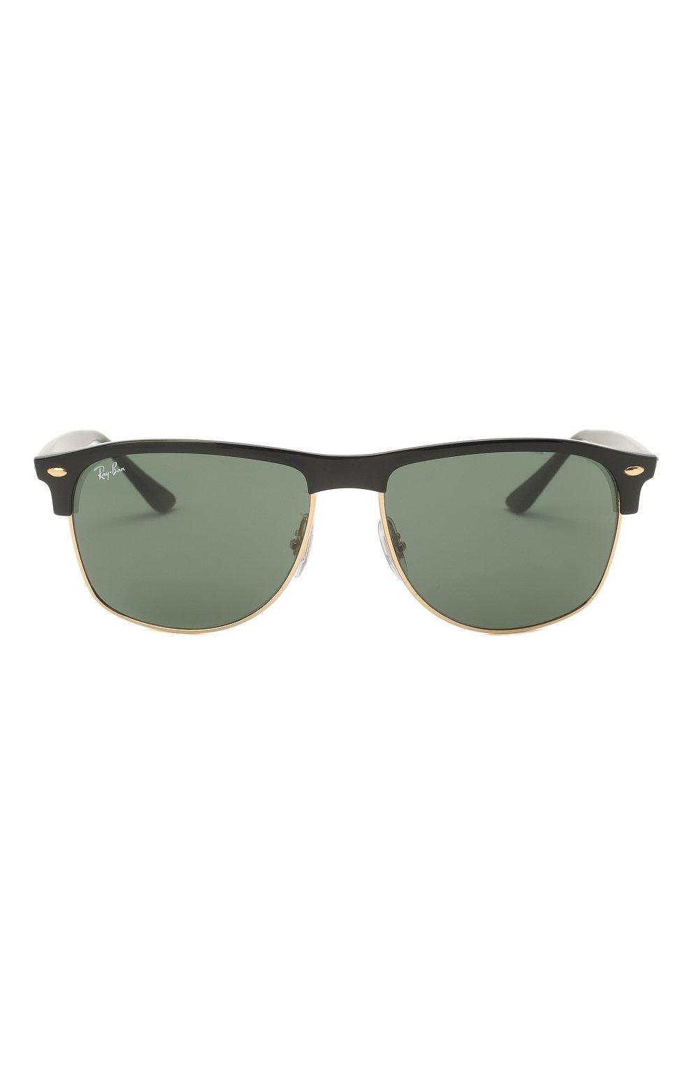 Мужские солнцезащитные очки RAY-BAN черного цвета, арт. 4342-601/71 | Фото 3