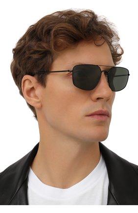 Мужские солнцезащитные очки RAY-BAN черного цвета, арт. 3666-002/31 | Фото 2