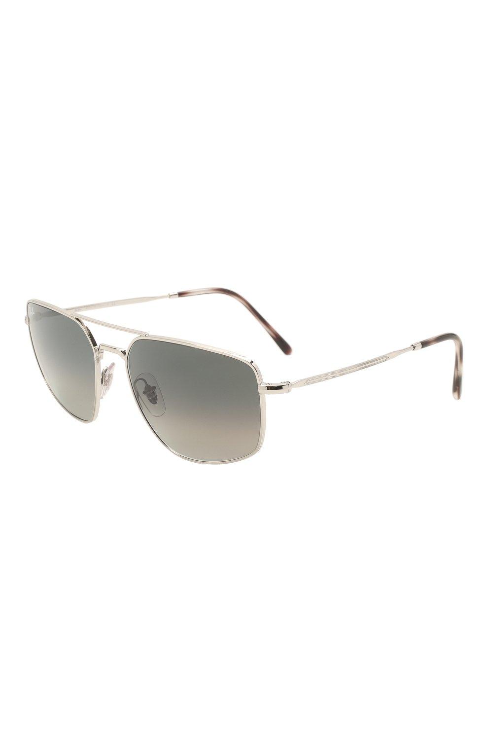 Мужские солнцезащитные очки RAY-BAN серого цвета, арт. 3666-003/71 | Фото 1