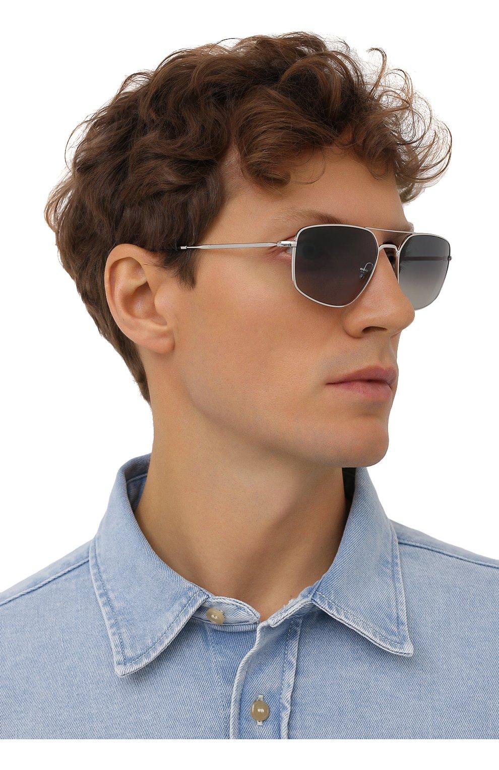 Мужские солнцезащитные очки RAY-BAN серого цвета, арт. 3666-003/71 | Фото 2