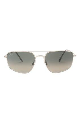Мужские солнцезащитные очки RAY-BAN серого цвета, арт. 3666-003/71 | Фото 3