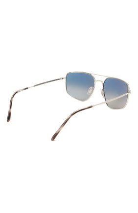 Мужские солнцезащитные очки RAY-BAN серого цвета, арт. 3666-003/71 | Фото 4