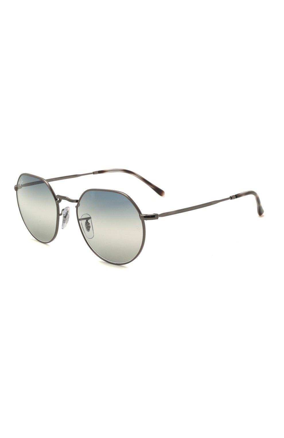 Женские солнцезащитные очки RAY-BAN синего цвета, арт. 3565-004/GF   Фото 1