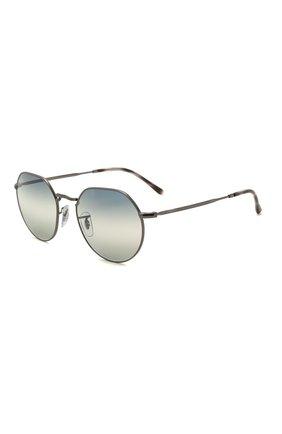 Женские солнцезащитные очки RAY-BAN синего цвета, арт. 3565-004/GF | Фото 1