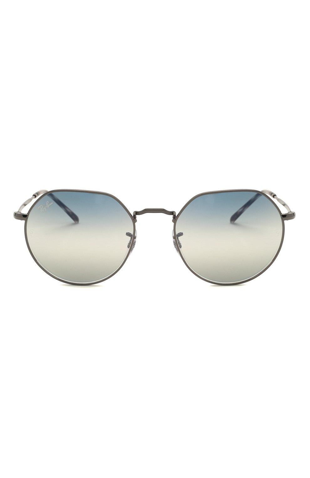 Женские солнцезащитные очки RAY-BAN синего цвета, арт. 3565-004/GF   Фото 4
