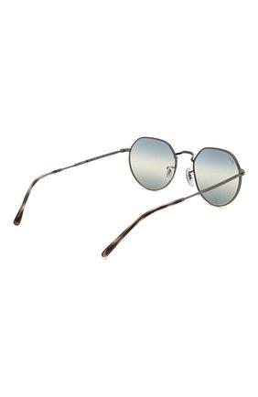 Женские солнцезащитные очки RAY-BAN синего цвета, арт. 3565-004/GF   Фото 5