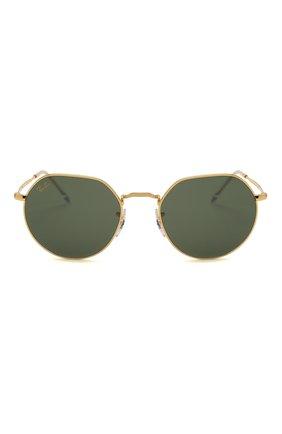 Женские солнцезащитные очки RAY-BAN золотого цвета, арт. 3565-919631 | Фото 4