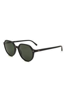 Женские солнцезащитные очки RAY-BAN черного цвета, арт. 2195-901/31 | Фото 1