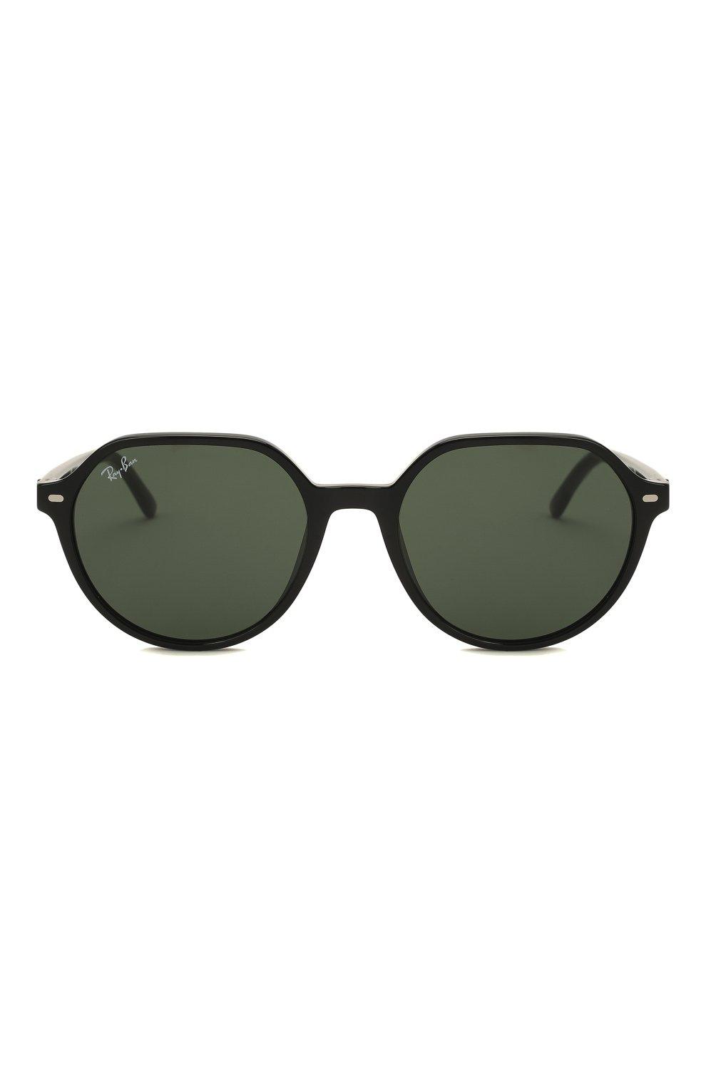 Женские солнцезащитные очки RAY-BAN черного цвета, арт. 2195-901/31 | Фото 4