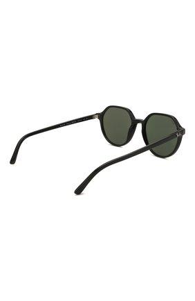Женские солнцезащитные очки RAY-BAN черного цвета, арт. 2195-901/31 | Фото 5