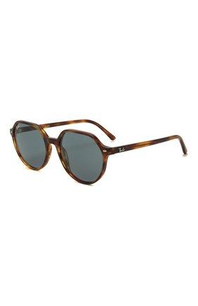 Женские солнцезащитные очки RAY-BAN коричневого цвета, арт. 2195-954/62 | Фото 1