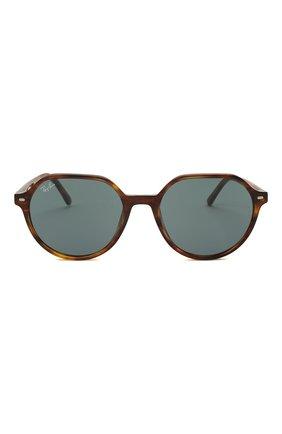 Женские солнцезащитные очки RAY-BAN коричневого цвета, арт. 2195-954/62 | Фото 4