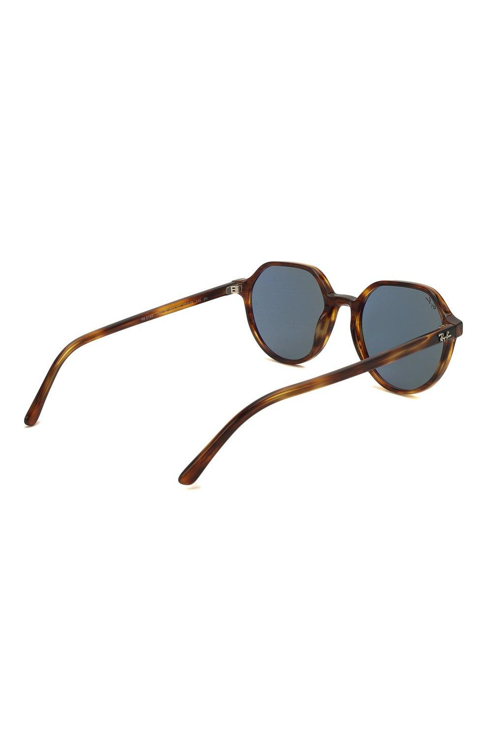 Женские солнцезащитные очки RAY-BAN коричневого цвета, арт. 2195-954/62 | Фото 5