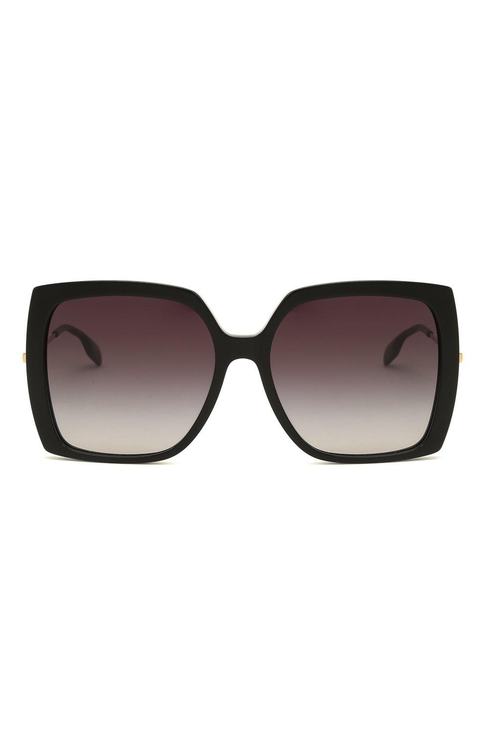 Женские солнцезащитные очки BURBERRY черного цвета, арт. 4332-30018G | Фото 3