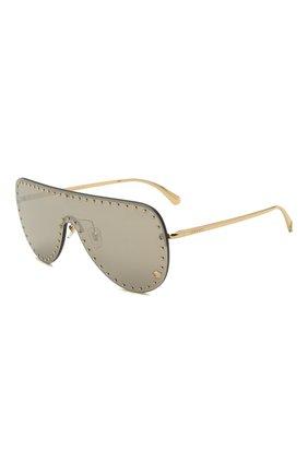 Женские солнцезащитные очки VERSACE серого цвета, арт. 2230B-12526G | Фото 1 (Оптика Гендер: оптика-женское; Очки форма: Маска; Тип очков: С/з)