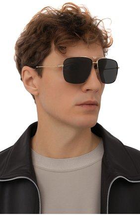 Мужские солнцезащитные очки DOLCE & GABBANA черного цвета, арт. 2264-02/87 | Фото 2