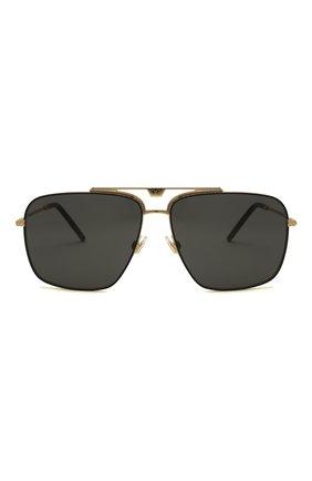 Мужские солнцезащитные очки DOLCE & GABBANA черного цвета, арт. 2264-02/87   Фото 3