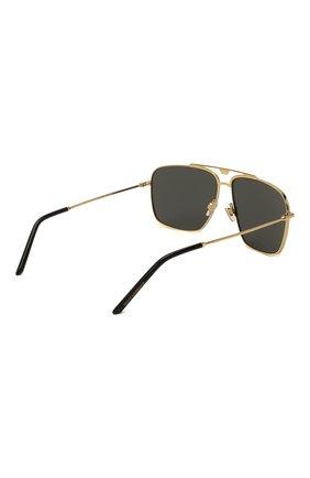 Мужские солнцезащитные очки DOLCE & GABBANA черного цвета, арт. 2264-02/87   Фото 4