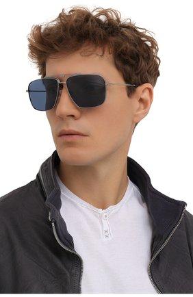 Мужские солнцезащитные очки DOLCE & GABBANA синего цвета, арт. 2264-04/80 | Фото 2