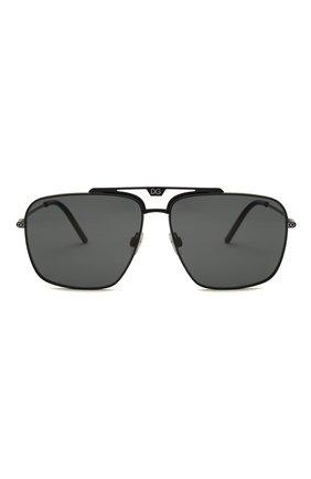 Мужские солнцезащитные очки DOLCE & GABBANA черного цвета, арт. 2264-110681 | Фото 3