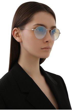 Женские солнцезащитные очки OLIVER PEOPLES желтого цвета, арт. 1282ST-50363C | Фото 2