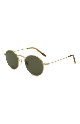 Женские солнцезащитные очки OLIVER PEOPLES золотого цвета, арт. 1282ST-529252 | Фото 1