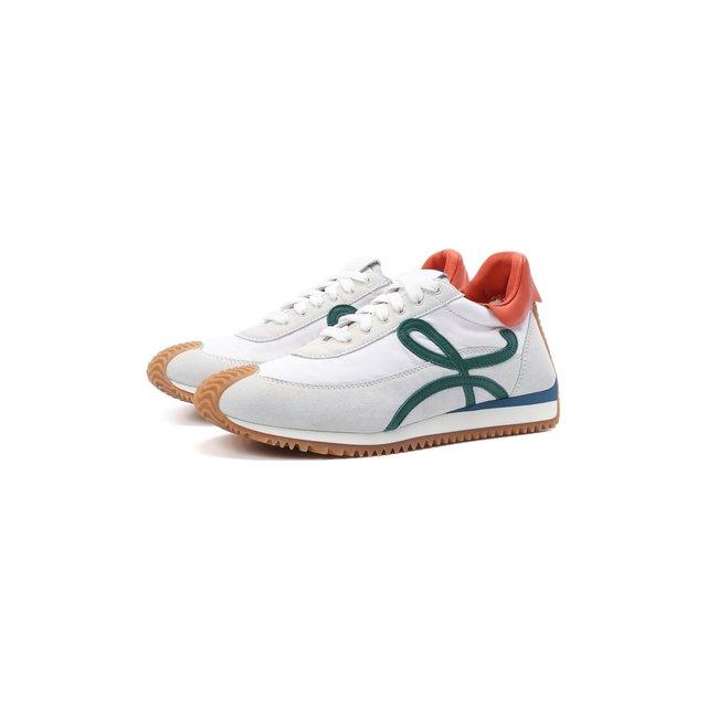 Комбинированные кроссовки Flow Runner Loewe