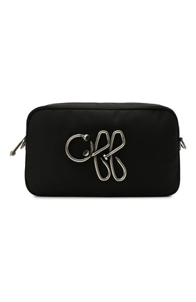 Мужская текстильная сумка OFF-WHITE черного цвета, арт. 0MNN017S21FAB001   Фото 1