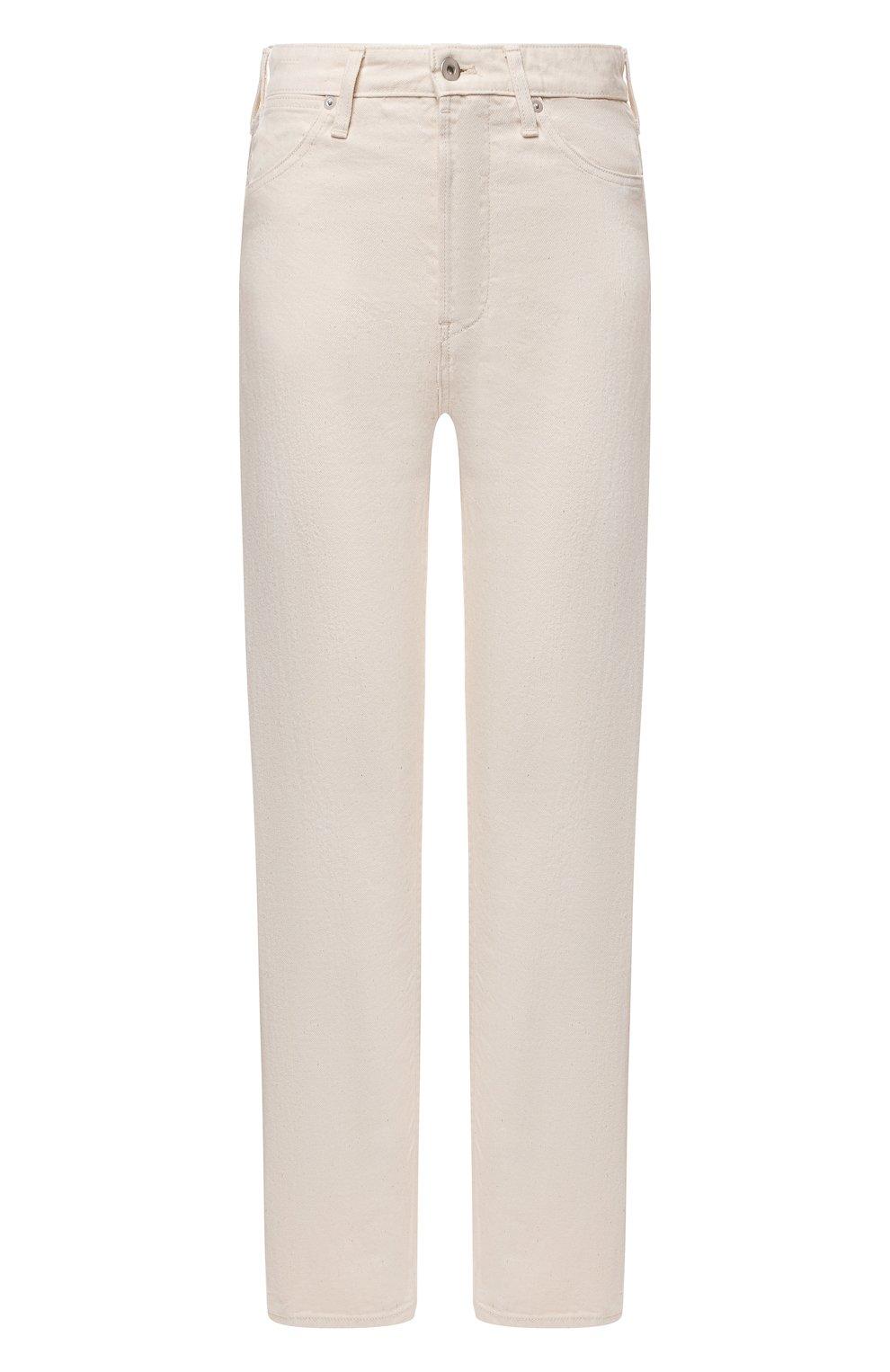 Женские джинсы JIL SANDER бежевого цвета, арт. JPPS663102-WS246500 | Фото 1