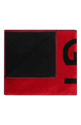 Детского хлопковое полотенце GIVENCHY красного цвета, арт. H20042 | Фото 1 (Материал: Текстиль, Хлопок)