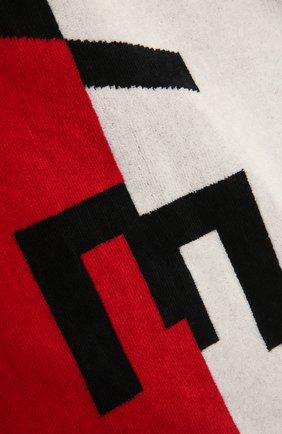 Детского хлопковое полотенце GIVENCHY красного цвета, арт. H20042 | Фото 2 (Материал: Текстиль, Хлопок)