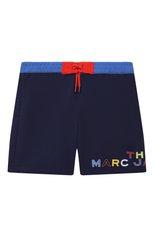 Детские плавки-шорты MARC JACOBS (THE) синего цвета, арт. W20062 | Фото 1