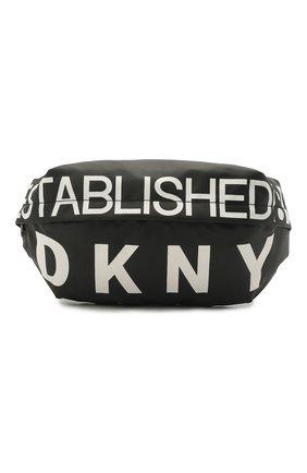 Детская поясная сумка DKNY черного цвета, арт. D20258 | Фото 1